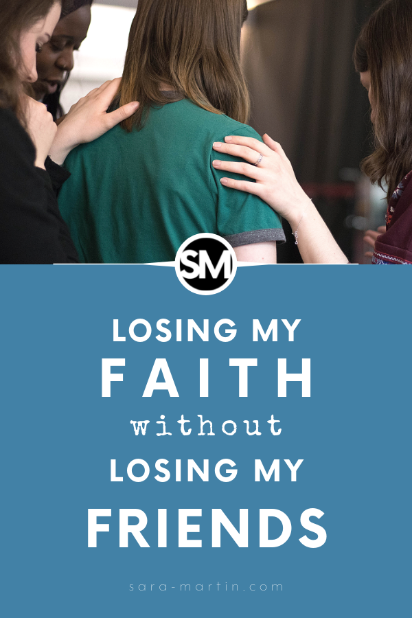 losing my faith without losing my friends