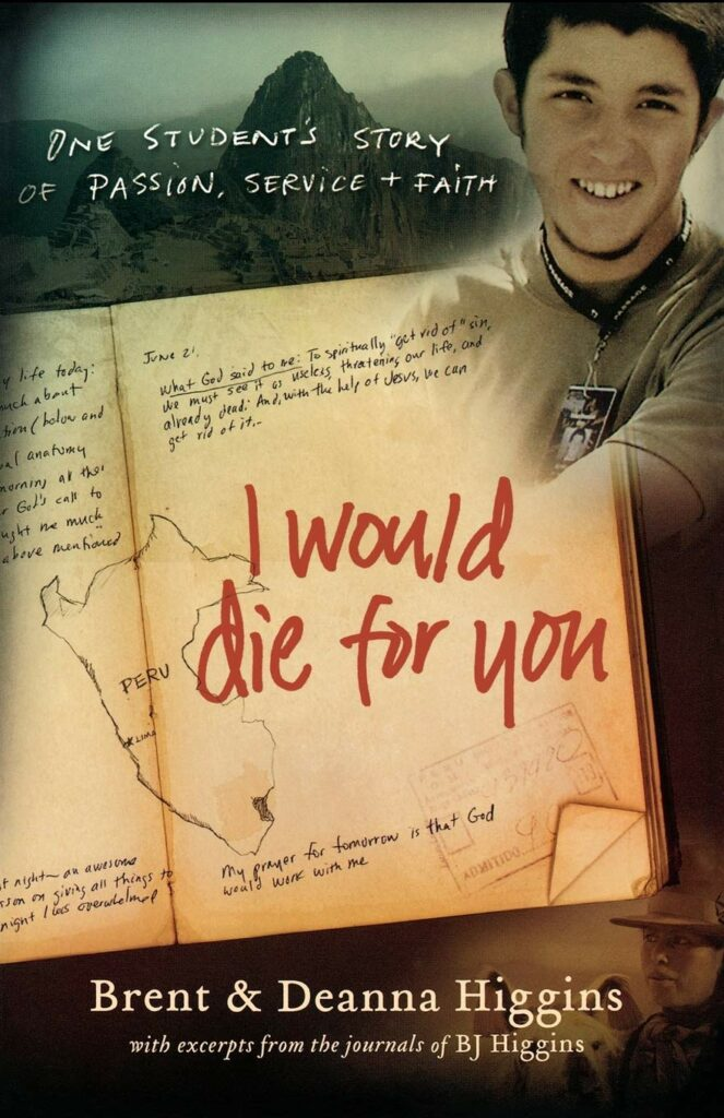 I Would Die for You book cover